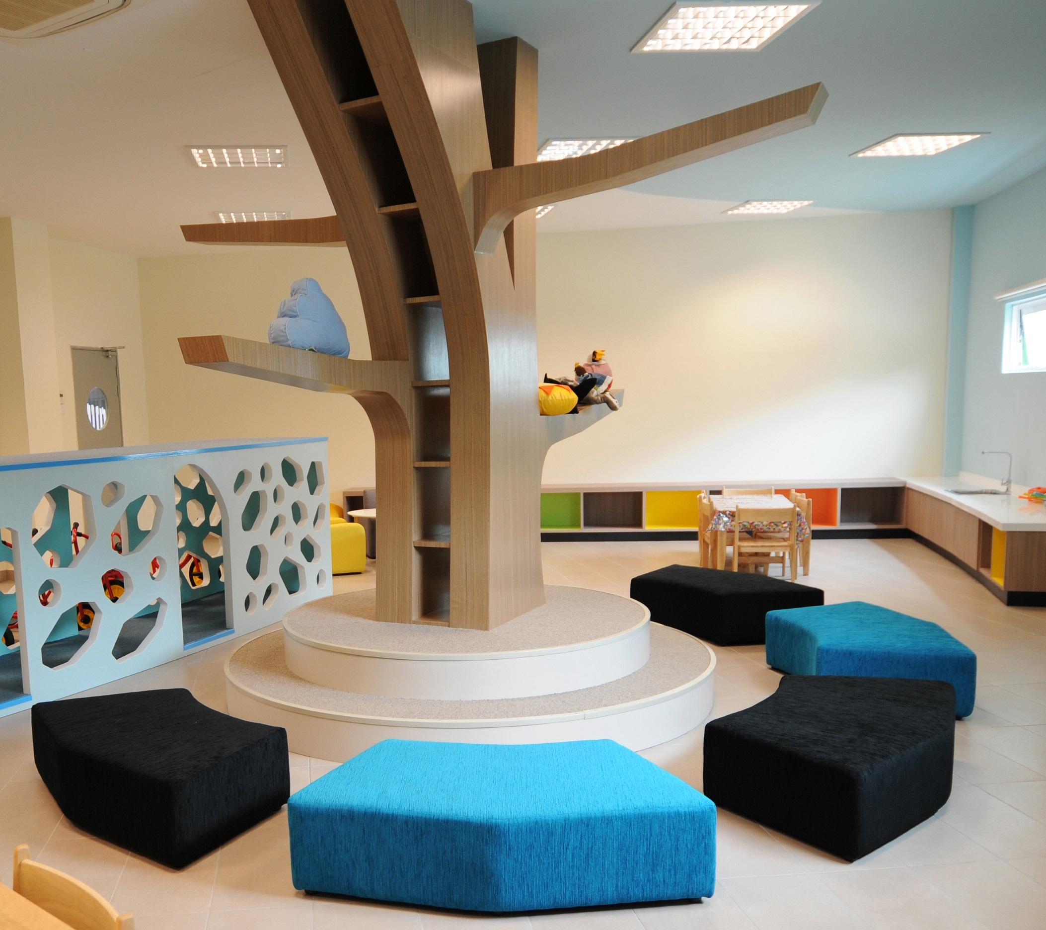 Play Corner In The Preschool Classroom