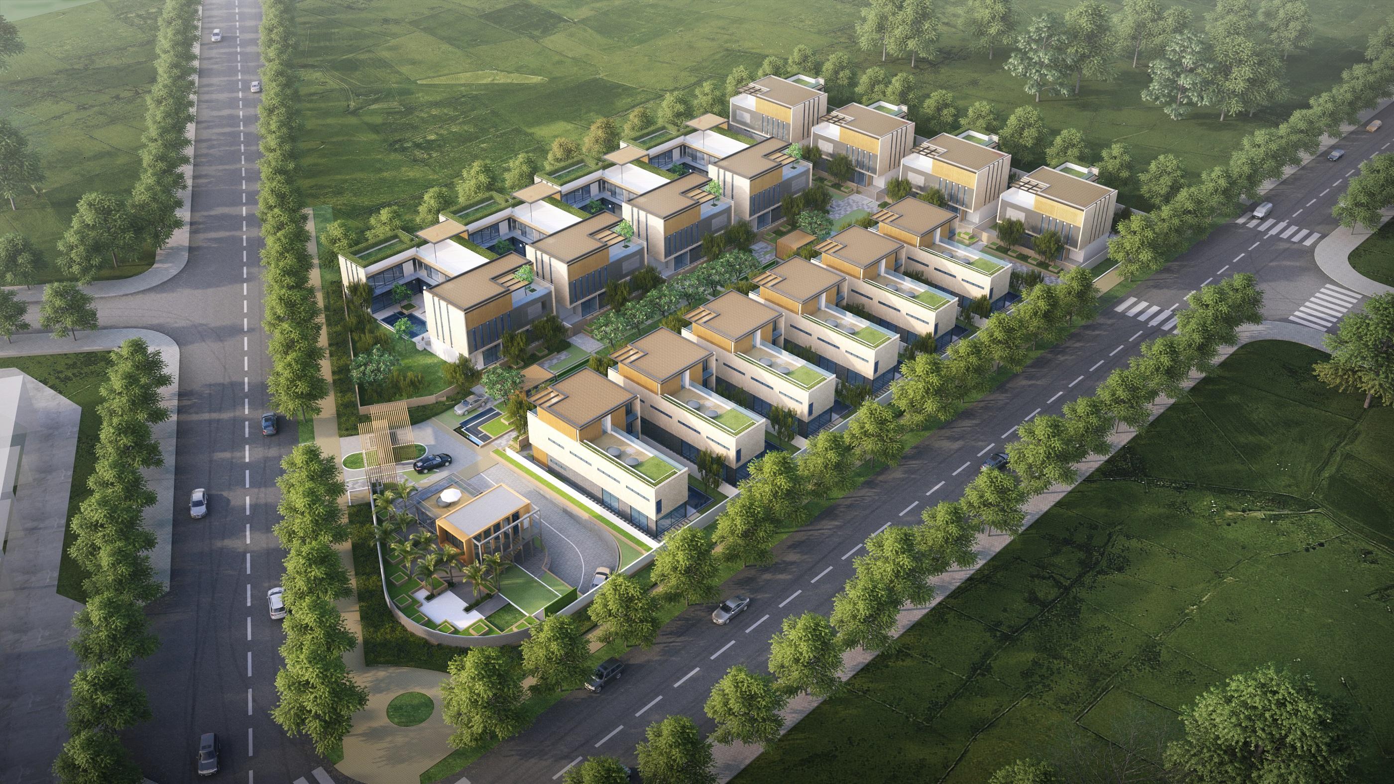 Regional Projects: E6 Villas - Construction Plus Asia