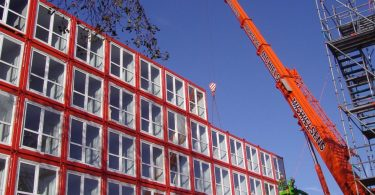 container homes Netherlands (Photo: SCMP)