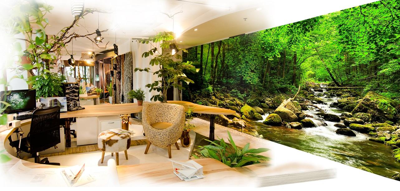 Nature Centric Office Construction Plus Asia