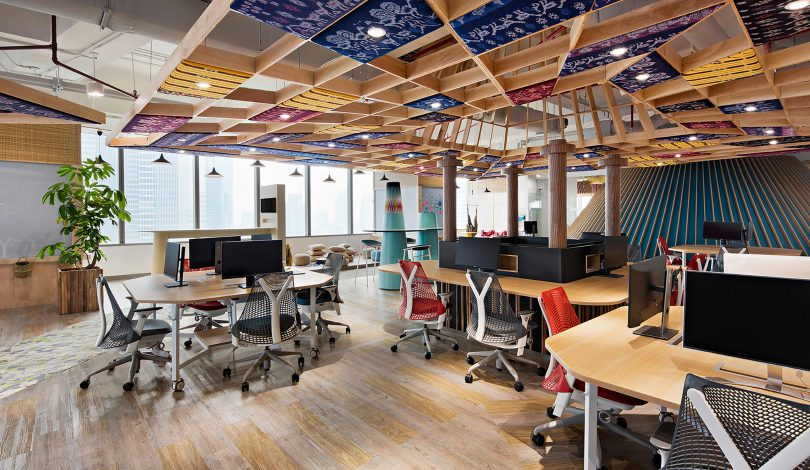 6 Attractive Startup Office Designs in Indonesia
