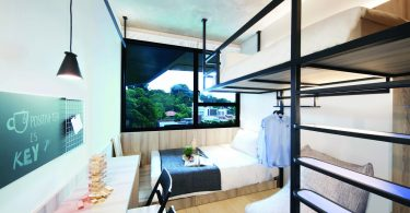 The bunk bed