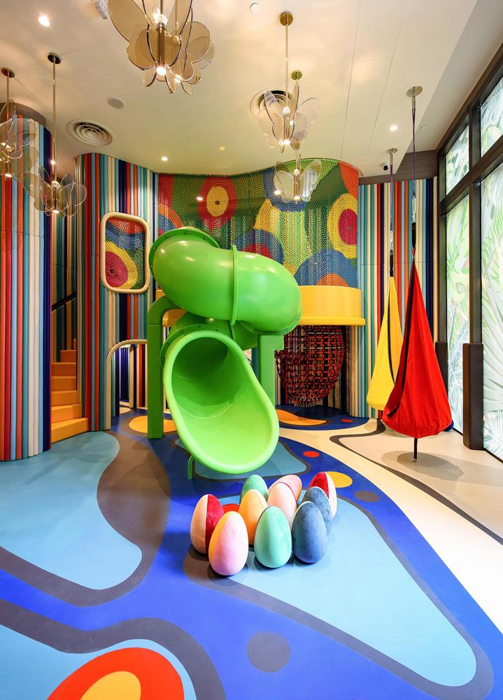 Crescent Green Playroom